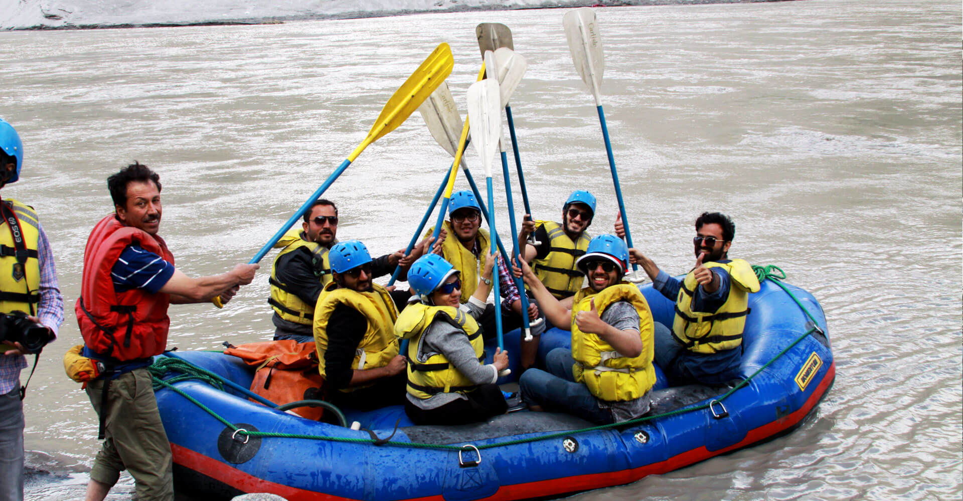 Rafting Adventure - A Different Agenda