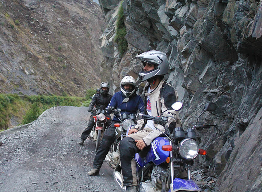 21-Days Around the Mighty Three-II - Motorcycle Adventure - A Different Agenda